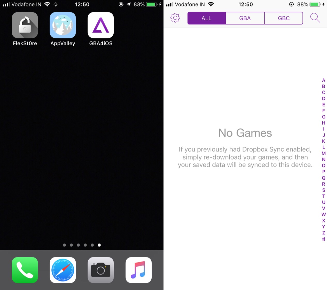 GBA4iOS will automatically be installed