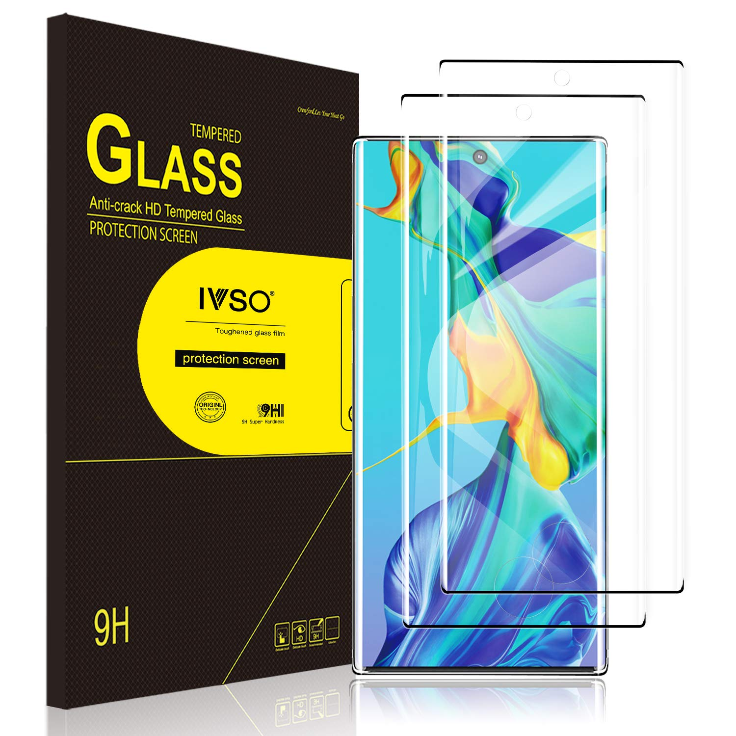 Note 10 + Case Friendly Screen Protector