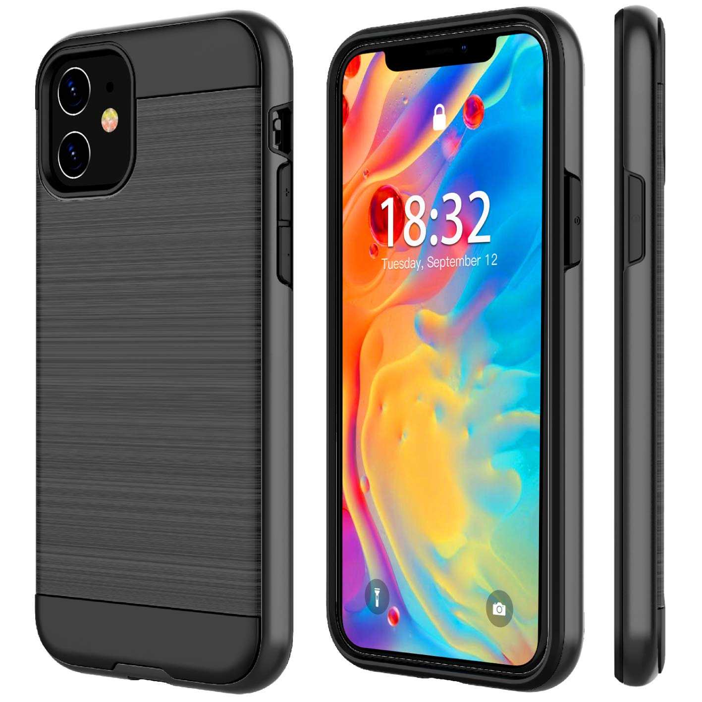 Nineasy Stylish Dual Layer case iPhone 11