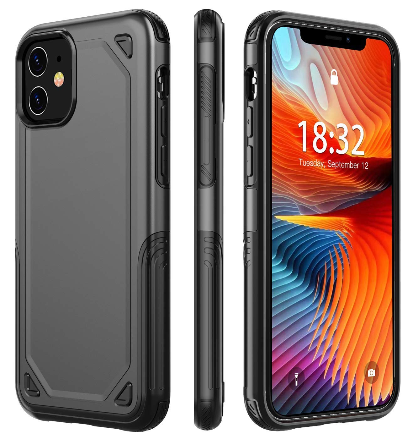 iPhone 11 Slim & Protective Case by Huakay