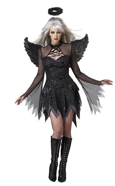 Fallen Angel Dress Halloween Costume women