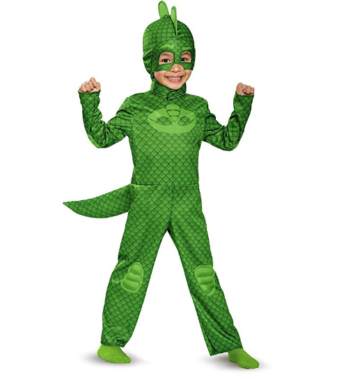 Gekko Classic Toddler PJ Masks Halloween Costume