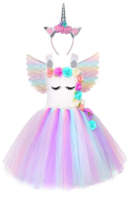 Girl Unicorn Halloween Costume