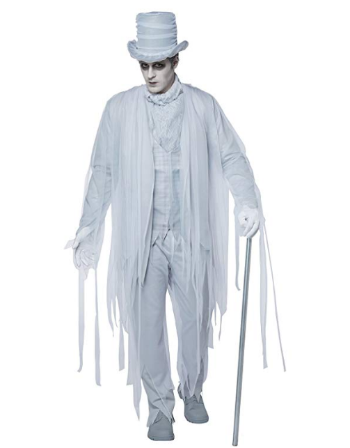 Haunting Gentleman Halloween Costume for Men's