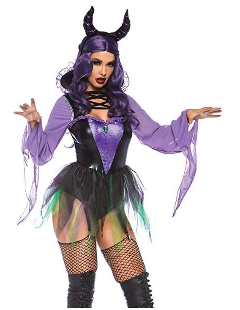 Maleficent Sorceress Halloween Costume for women