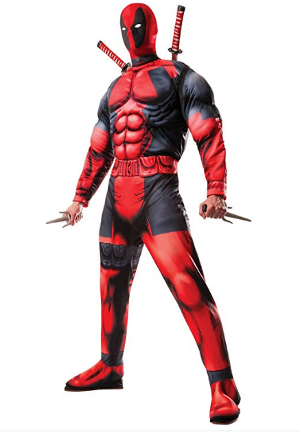 Men's Deadpool Costume for Halloween
