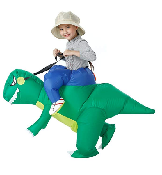 T-Rex Dinosaur Inflatable Fancy Dress Halloween Costume
