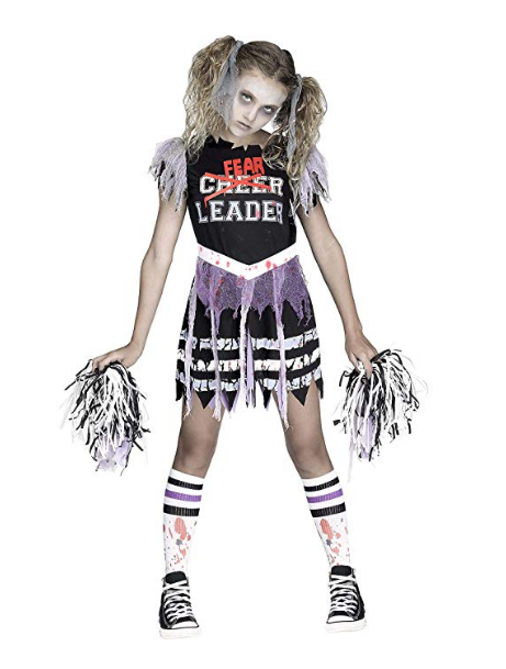 Zombie Fear leader Halloween Girl Costume