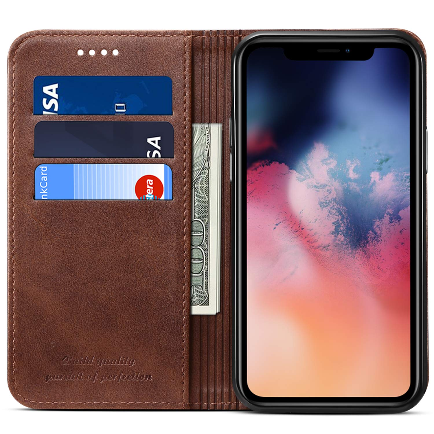 iPhone 11 Pro Leather Folio Case