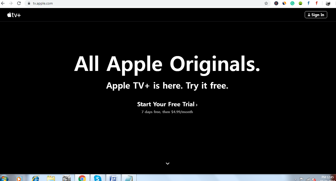 Watch Apple TV Plus On Windows 10 PC & Android Device