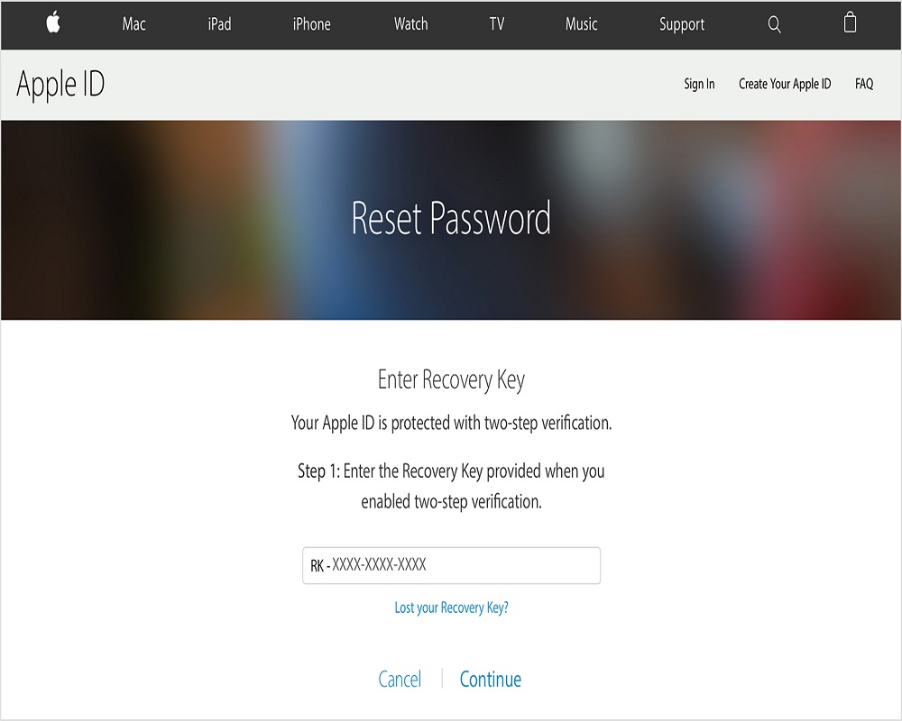 iforgot apple id