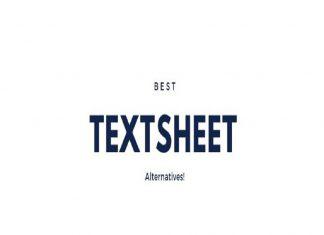 textsheet-alternatives 2020