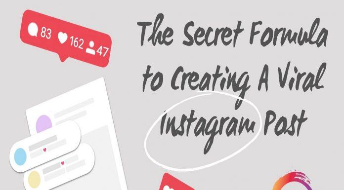 The Secret Formula to Creating A Viral Instagram Post