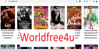 Worldfree4u hollywood