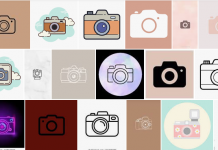 Camera Icon Aesthetic