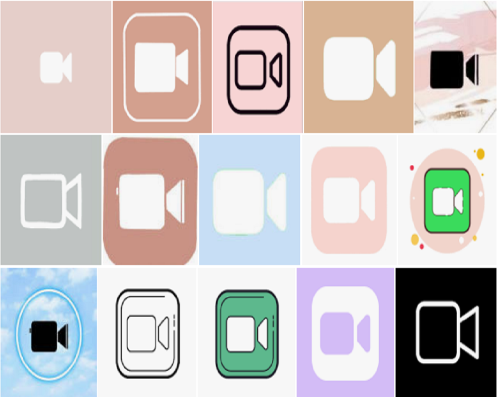 facetime icon aesthetic