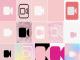 Pink FaceTime Logo